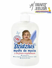 DZIDZIUS / BABY - LIQUID SOAP - ALMOND - FOR CHILDREN - BIALY JELEN - 300ml