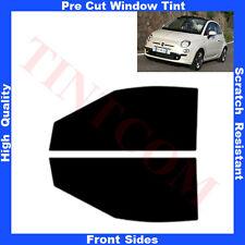 Pellicola Oscurante Vetri Auto Anteriori per Fiat 500C Cabrio 2009-2010 da5%a70%