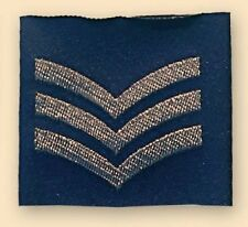 New Official Royal Air Force RAF Sergeant Rank Slide