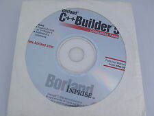 Borland C++ Builder Version 5 Companion Tools Productivity 11469 Free Shipping