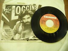 """KENNY LOGGINS""""DON'T FIGHT IT- disco 45 COLUMBIA CAN 1982"""""""