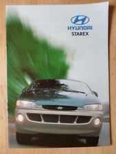 HYUNDAI STAREX 1997 sales brochure - French text Swiss Mkt