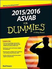 2015 / 2016 ASVAB for Dummies by Rod Powers (2015, Paperback)