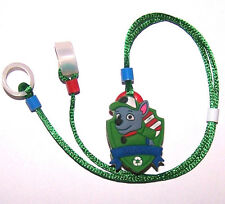 Children's Hearing Aid safety Leash RETAINER CORD CLIP for 2 H.A.'s ...DOGGIE
