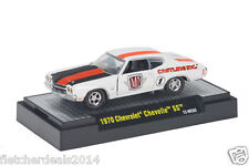 L52 32600 WC02 M2 MACHINE WILD CARDS 1970 CHEVROLET CHEVELLE SS CHEVY 1:64
