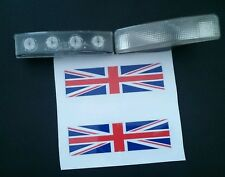SCANIA 3&4/R/TOPLINE SERIES  STYLE CAB/TOP MARKER LIGHT LAMINATED COVERS