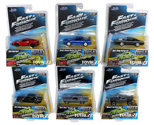 JADA 1:64 FAST & FURIOUS WAVE 3 SET OF 7 NEW BRIAN MITSUBISHI LANCER EVO VIII