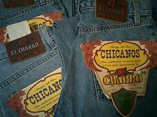 JEANS EL CHARRO ANNI 80 PANINARO mai indossati NUOVI New UNUSED for collections