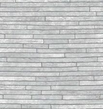 Arthouse Opera Slate Grey Wallpaper 694100 Stone Brick Urban Cladding