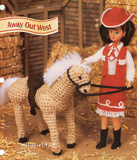 """""""OUTFIT & PONY""""~Annie's Crochet PATTERN~PATTERN ONLY~For 9.5"""" FASHION DOLL"""