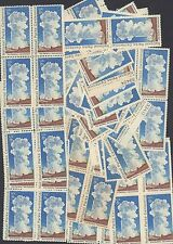 {BJ Stamps}  1453   Old Faithful.  100  MNH   08 cent stamps.  Issued in 1972