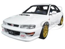 SUBARU IMPREZA 22B WHITE UPGRADED VERSION LIMITED TO 1500pc 1/18 AUTOART 78605