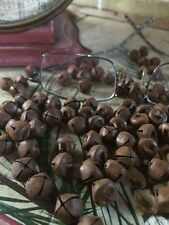 "(500) Primitive Rusty Tin JINGLE BELLS 10mm 3/8 in 3/8"" ~ BULK CRAFT SUPPLY"