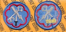 US Army 207th Military Intelligence Brigade Dress uniform patch m/e