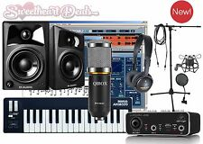 Home Recording Bundle Studio Package Midi 32 M-Audio Software Free Ship!