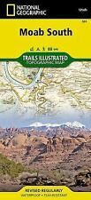 National Geographic Trails Illustrated Utah Moab South Trail Map 501