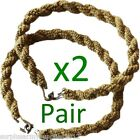 2 PAIRS ARMY TROUSER TWISTERS MTP COYOTE TWISTS TWISTIES HIKING CADET SOLDIER