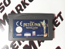 DISNEY'S PETER PAN RETURN TO NEVER LAND - NINTENDO GAME BOY ADVANCE GBA e DS NDS