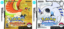 Pokemon HeartGold + SoulSilver Combo [Nintendo DS DSI, RPG Video Game] Brand NEW