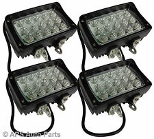 4x 45W 15 LED Work Light Lamp Flood Beam Jeep Tractor Truck Bright 12v 24v CE
