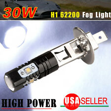 1x High Power 30W LED bulb H1 Super Bright 7000K White Fog Driving DRL