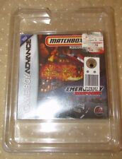 Gameboy Advance NEW Matchbox Missions Air Land and Sea Rescue Emergency Response