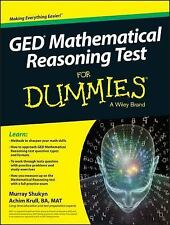 GED Mathematical Reasoning Test for Dummies by Consumer Dummies Staff, Murray...