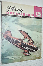 AVIATION PLANY MODELARSKIE 125 1985 MODELISME PLANS AVION PÏTTS S-2 VOLTIGE