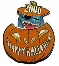 Walt Disney Studios STITCH Halloween in Jack-O-Lantern Pumpkin 2006 Pin LE 500