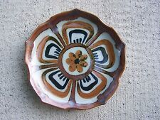 "1980s Ken Edwards Tonala Lotus Pattern 8.25"" Medium Plate #1 - Mexico"