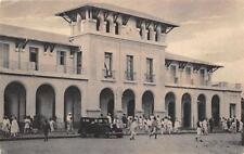 C3445) ETIOPIA, LA STAZIONE FERROVIARIA DI ADDIS ABEBA. VG NEL 1936 CON P.M.