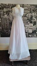 JJs House dress (White) Ball, Prom, Beach Wedding etc, RRP £250+
