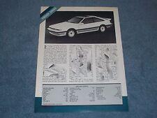 1987 Nissan 200SX Vintage Info & Specs Article