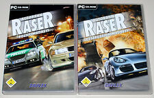 2 PC SPIELE BUNDLE - AUTOBAHN RASER - POLICE MADNESS & DESTRUCTION MADNESS