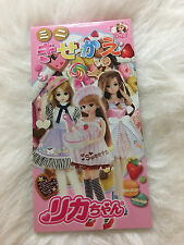 Japanese Anime Licca Paper Doll Book