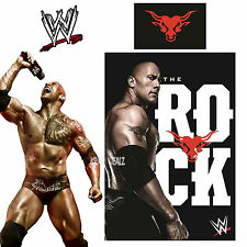 WWE The Rock Single Panel Duvet Cover Bed Set 2K15 Dwayne Johnson Gift