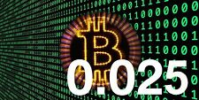 BITCOIN 0.025 (BTC) - DIRECT TO YOUR BITCOIN WALLET ADDRESS