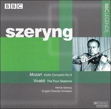 Mozart: Violin Concerto No. 3; Vivaldi: The Four Seasons, New Music