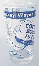 Vintage Anthony Wayne High School Marching Band Drinking Glass Toledo Oh