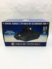 Franklin Mint George S Patton M4-A3 Sherman Tank 1:24 Scale Diecast