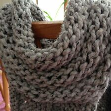 Katniss Hunger Games Inspired Fashion Cowl, Wrap, Scarf, Handknit, Brand New!