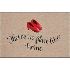 High Cotton There's No Place Like Home Doormat Rug Dorothy Wizard of Oz Gift