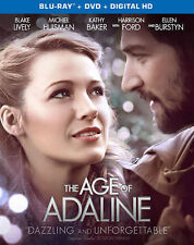 THE AGE OF ADALINE (2015) Bluray Only  Blake Lively Harrison Ford