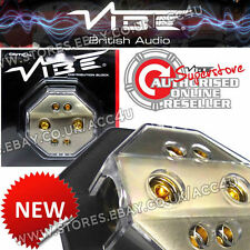 Vibe Audio Db6 12v Coche non con fusible 4 Way Amplificador Amp poder distribución bloque