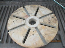 "MACHINIST TOOL LATHE MILL 14"" Lathe Face Plate 2 1/3"" Center Bore"