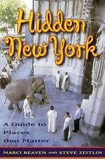 Hidden New York: A Guide to Places That Matter-ExLibrary