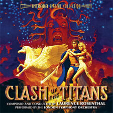 CLASH OF THE TITANS (1981) ~ Laurence Rosenthal 2CD