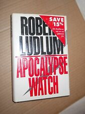 The Apocalypse Watch by Robert Ludlum (1995, Hardcover, Standard Size)