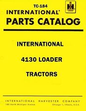 International Harvester 4130 Loader Tractor Chassis Parts Catalog Manual IH