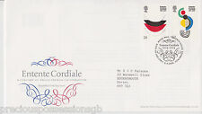 TALLENTS PMK GB ROYAL MAIL FDC FIRST DAY COVER 2004 ENTENTE CORDIALE STAMP SET